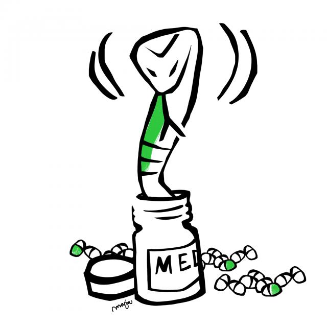 orm-i-medicinburken-zonterapi-pasandberg-illustration-maja-larsson