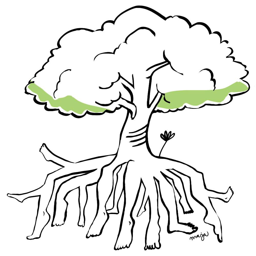fotrot-zonterapi-illustration-maja-larsson