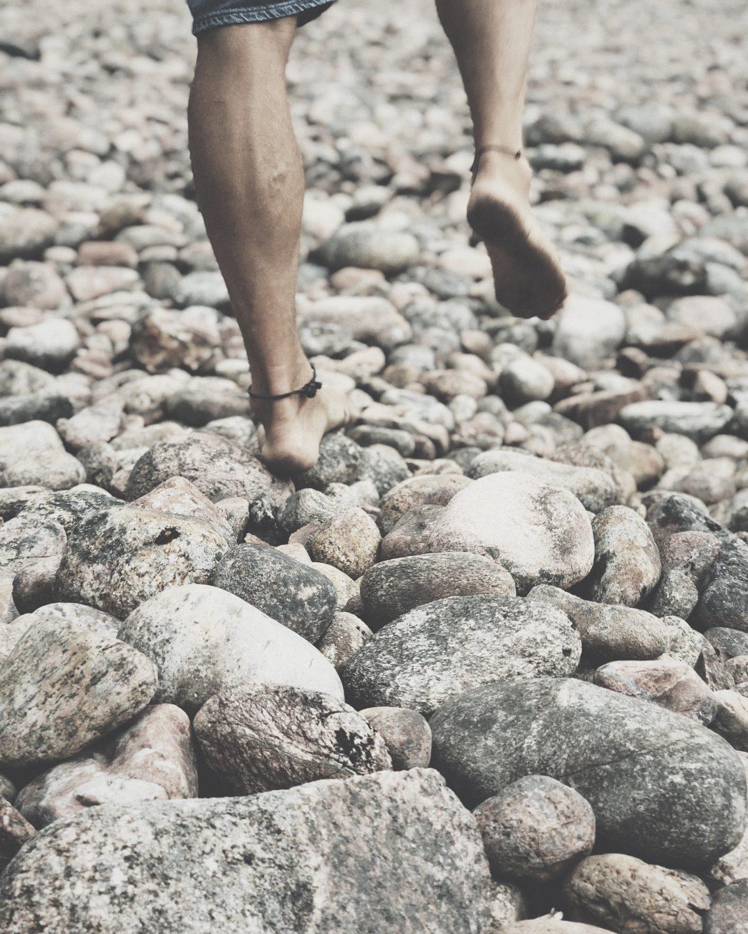 Naturligt sätt att gå visste du det här om att gå barfota